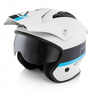 OUTLET CASCO ACERBIS JET ARIA COLOR BLANCO/NEGRO