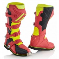 OFFER ACERBIS X-PRO V. BOOTS COLOR RED/YELLOW
