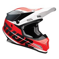 CASCO THOR SECTOR FADER 2021 COLOR ROJO / NEGRO