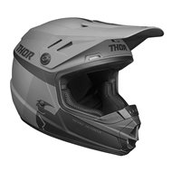 THOR YOUTH SECTOR RACER HELMET 2020 BLACK / CHARCOAL COLOUR