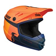 THOR YOUTH SECTOR RACER HELMET 2020 ORANGE / MIDNIGHT COLOUR
