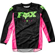 FOX YOUTH 180 SPECIAL EDITION VENIN JERSEY 2020 BLACK COLOUR