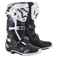 ALPINESTARS TECH 10 BOOTS 2021 BLACK / WHITE COLOUR
