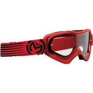 GAFAS INFANTILES MOOSE RACING QUALIFER SLASH COLOR ROJO/NEGRO