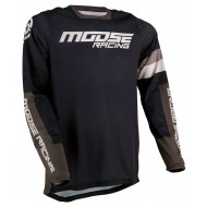 MOOSE SAHARA JERSEY 2021 BLACK / GREEN COLOUR
