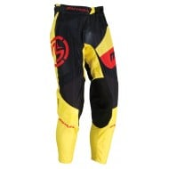 MOOSE SAHARA PANT 2021 BLACK / YELLOW / RED COLOUR