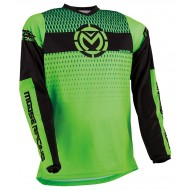 MOOSE QUALIFIER JERSEY 2021 GREEN / BLACK COLOUR