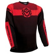 MOOSE QUALIFIER JERSEY 2021 RED / BLACK COLOUR