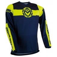 MOOSE QUALIFIER JERSEY 2021 NAVY / HI-VIZ COLOUR