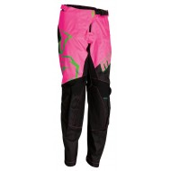 YOUTH MOOSE AGROID PANT 2021 BLACK / PINK / GREEN COLOUR