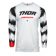 THOR PULSE AIR RAD JERSEY 2021 WHITE / RED COLOUR