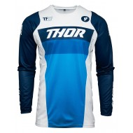 YOUTH THOR PULSE RACER JERSEY 2021 WHITE / NAVY COLOUR