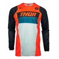 YOUTH THOR PULSE RACER JERSEY 2021 ORANGE / MIDNIGHT COLOUR