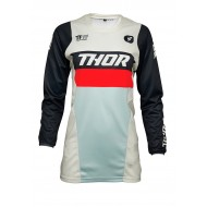 CAMISETA MUJER THOR PULSE RACER 2021 COLOR BLANCO VINTAGE / MEDIANOCHE