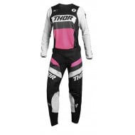 OUTLET COMBO MUJER THOR PULSE RACER 2021 COLOR NEGRO / ROSA