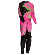 YOUTH COMBO MOOSE AGROID 2021 BLACK / PINK / GREEN COLOUR