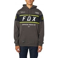OUTLET SUDADERA FOX OFFICIAL COLOR HUMO