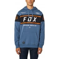 OUTLET SUDADERA FOX OFFICIAL COLOR ACERO AZUL