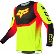 CAMISETA FOX 360 VOKE 2021 COLOR AMARILLO FLUOR