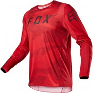 FOX 360 SPEYER JERSEY 2021 FLAME RED COLOUR