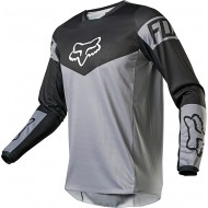 CAMISETA FOX 180 REVN 2021 COLOR GRIS ACERO