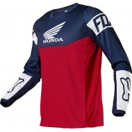 CAMISETA FOX 180 HONDA 2021 COLOR AZUL MARINO / ROJO