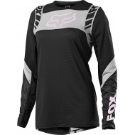 CAMISETA MUJER FOX FLEXAIR MACH ONE 2021 COLOR NEGRO
