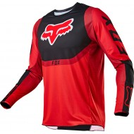 FOX YOUTH 360 VOKE JERSEY 2021 FLUO RED COLOUR