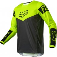 FOX YOUTH 180 REVN JERSEY 2021 FLUO YELLOW COLOUR