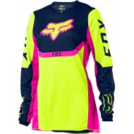 FOX YOUTH GIRLS 180 VOKE JERSEY 2021 FLUO YELLOW COLOUR