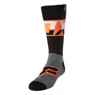 FOX YOUTH SOCK AFTERBURN 2021 BLACK COLOUR