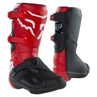 FOX YOUTH COMP BOOT BUCKLE 2021 FLAME RED COLOUR