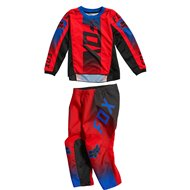COMBO YOUTH (4-5 YEARS) FOX 180 OKTIV 2021 FLUO RED COLOUR
