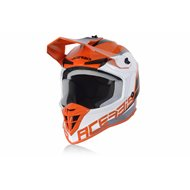ACERBIS LINEAL HELMET 2020 ORANGE WHITE