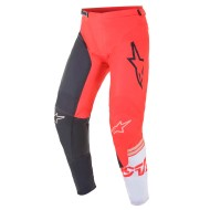 ALPINESTARS RACER COMPASS PANT 2021 ANTHRACITE / RED FLUO / WHITE COLOUR