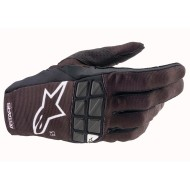 ALPINESTARS RACEFEND GLOVES 2021 BLACK / WHITE COLOUR