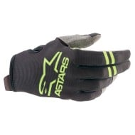 ALPINESTARS RADAR GLOVES 2021 BLACK / GREEN FLUO COLOUR
