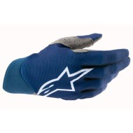 ALPINESTARS DUNE GLOVES 2021 DARK BLUE / WHITE COLOUR