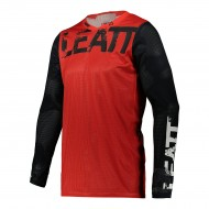 CAMISETA LEATT MOTO 4.5 X-FLOW 2021 COLOR ROJO