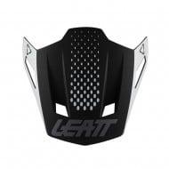 LEATT MOTO 8.5 HELMET PEAK BLACK / WHITE COLOUR