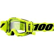 100% ACCURI FORECAST GOGGLE FLUO YELLOW - CLEAR LENS
