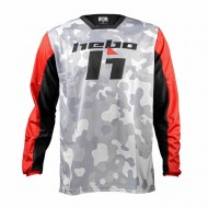 HEBO STRATOS II CAMO JERSEY 2021 WHITE COLOUR