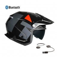 CASCO HEBO TRIAL ZONE 5 H-TYPE BLUETOOTH 2021 COLOR NEGRO