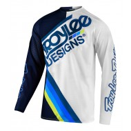 TROY LEE SE PRO AIR TILT JERSEY 2021 NAVY / WHITE COLOUR