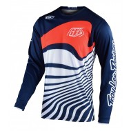 TROY LEE GP DRIFT JERSEY 2021 NAVY / ORANGE COLOUR