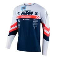 TROY LEE SE ULTRA FACTORY TEAM JERSEY 2021 WHITE / NAVY COLOUR