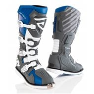 ACERBIS X-RACE BOOTS BLUE / GREY COLOUR