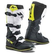 TCX X-BLAST BOOTS COLOR BLACK/WHITE/YELLOW