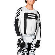 SHIFT BLACK LABEL G.I. FRO JERSEY 2021 WHITE / BLACK COLOUR
