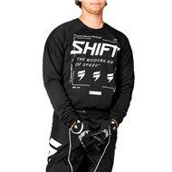 SHIFT WHITE LABEL BLISS JERSEY 2021 BLACK / WHITE COLOUR